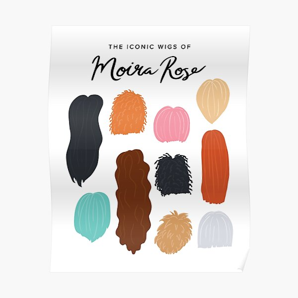 The Iconic Wigs of Moira Rose Poster