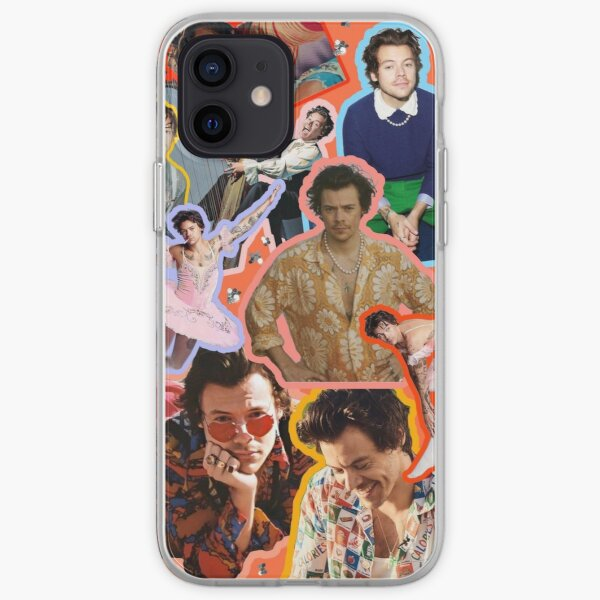 collage of harrystyle iPhone Soft Case