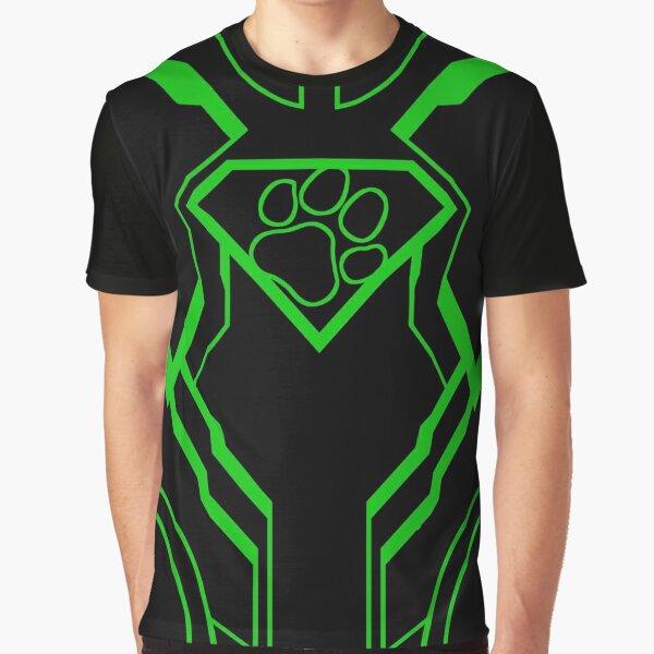 SuperPup (Green) Graphic T-Shirt