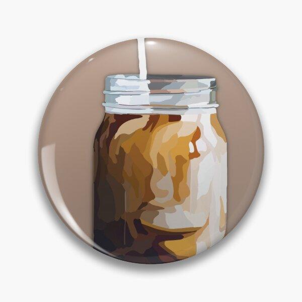 Iced Coffee Print Pin