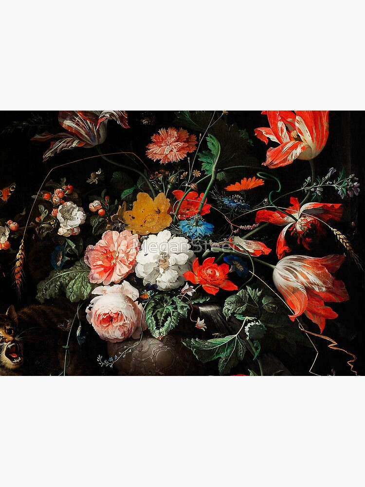 The Overturned Bouquet by Abraham Mignon, 1660-1679 by MeganSteer