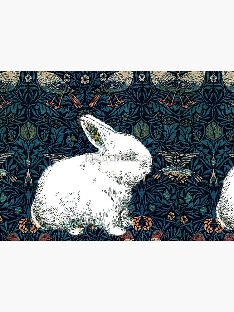 A Rabbit in Morris's Garden by MeganSteer