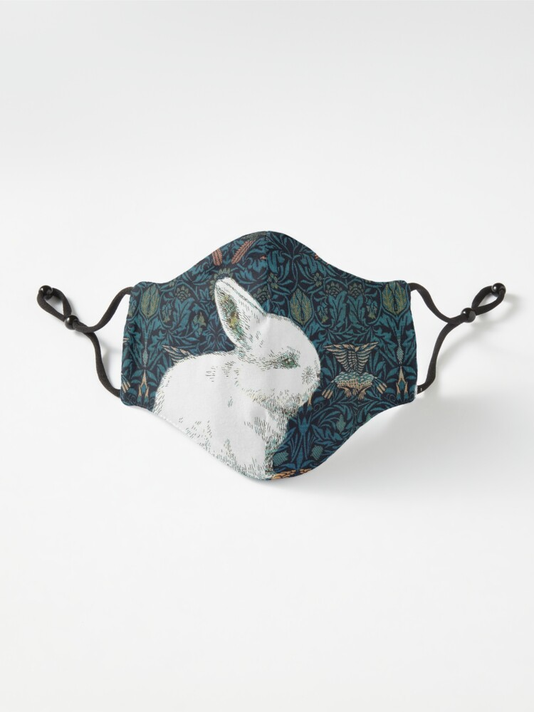 Alternate view of A Rabbit in Morris's Garden Mask