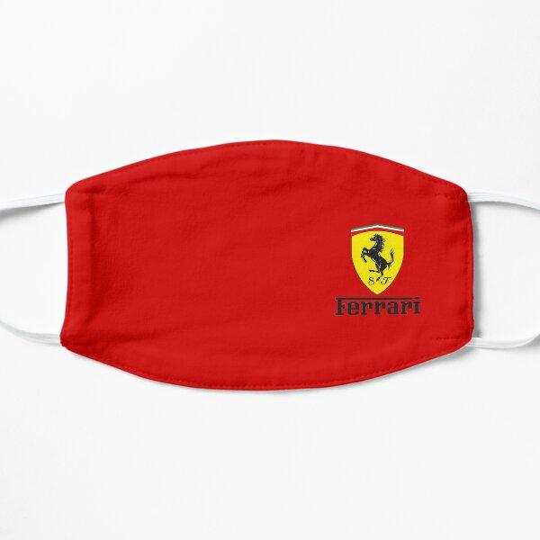 Ferrari logo shield black Mask