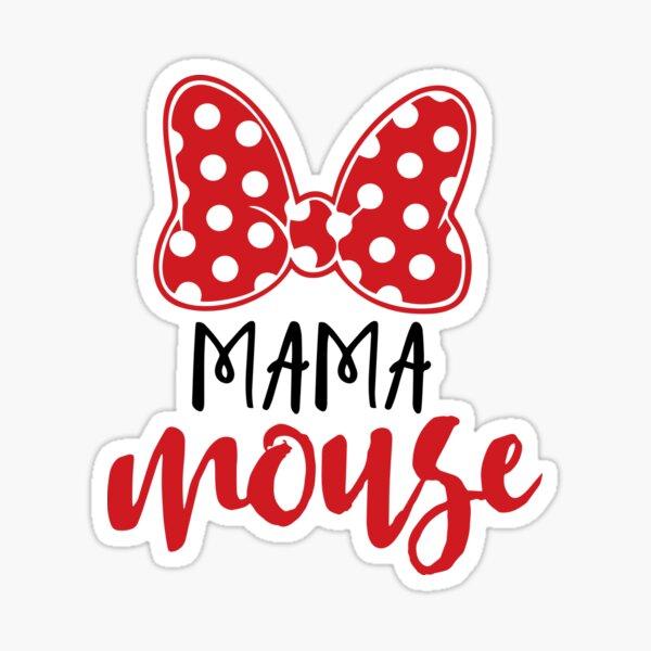 Mama Mouse Sticker