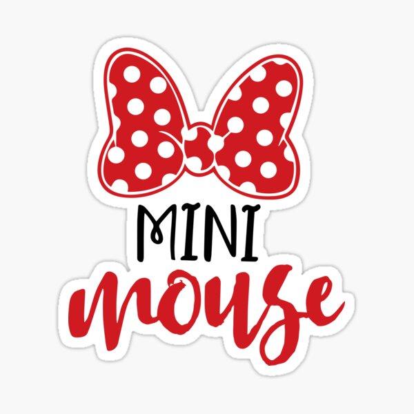 Mini Mouse Sticker