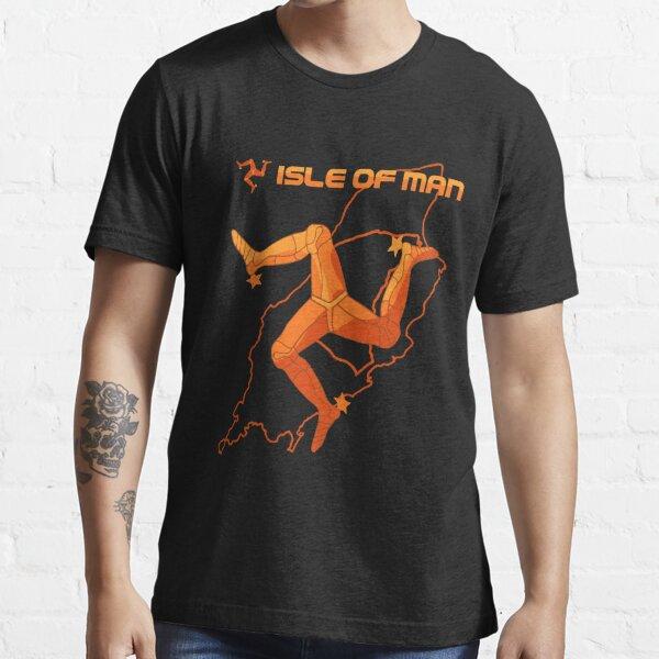 Isle of Man Classic Map Essential T-Shirt
