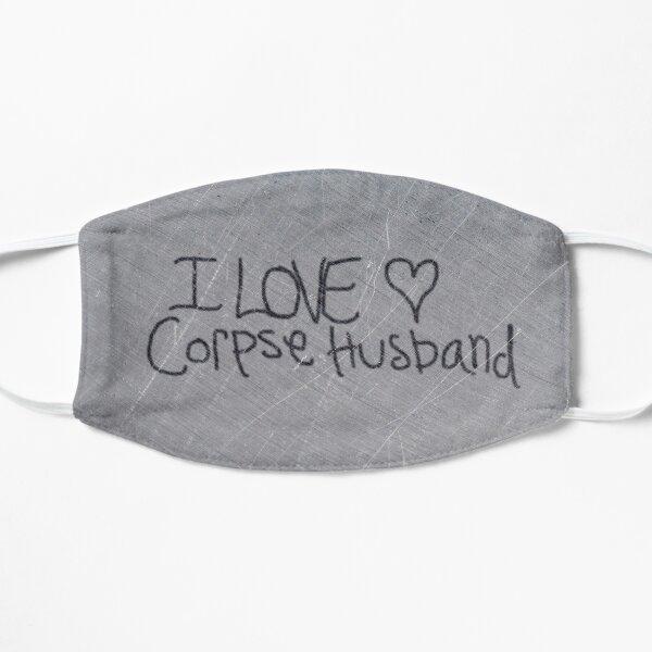 I love Corpse Husband Flat Mask