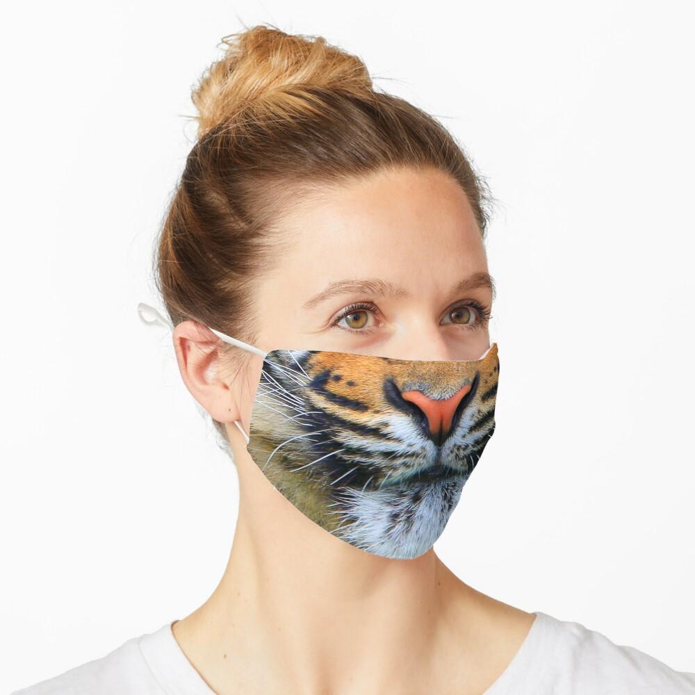 Wild Tiger Face Mask Mask