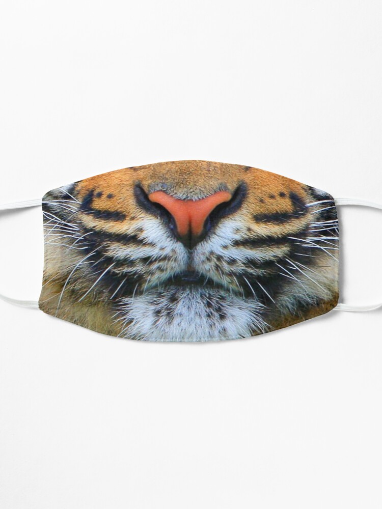 Alternate view of Wild Tiger Face Mask Mask