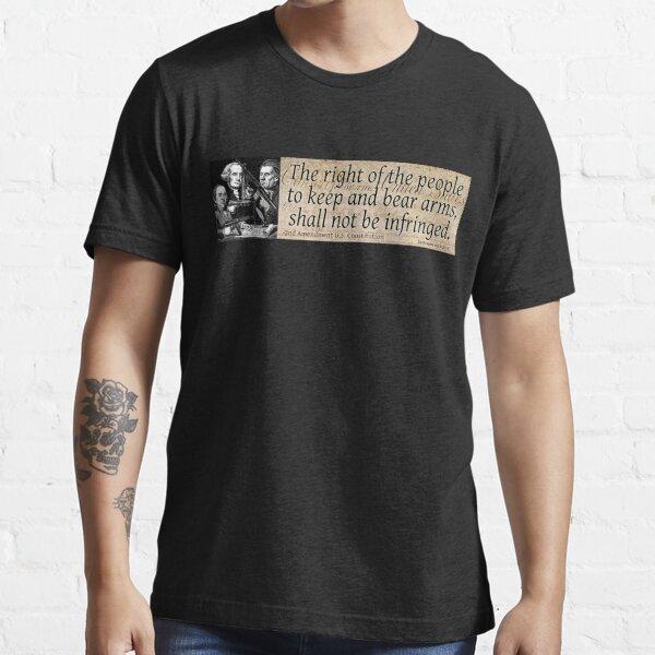 The 2nd Amendment Essential T-Shirt
