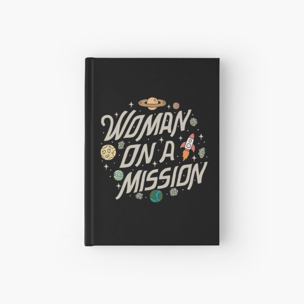 Woman on a Mission Hardcover Journal