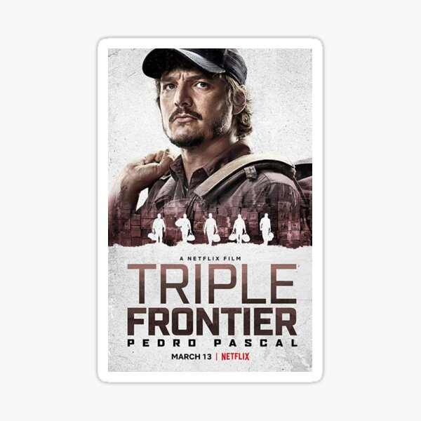 Triple Frontier Poster Sticker