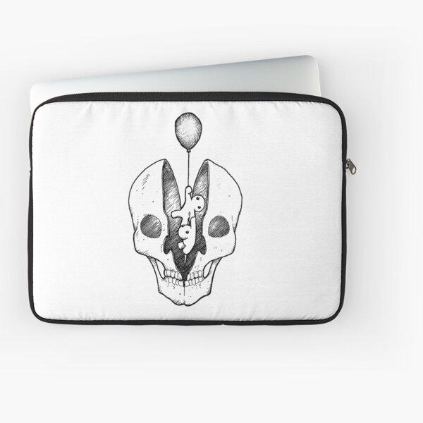 Split skull Laptop Sleeve