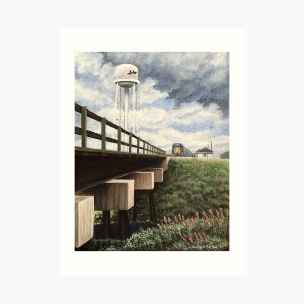 Moosonee Water Tower Art Print