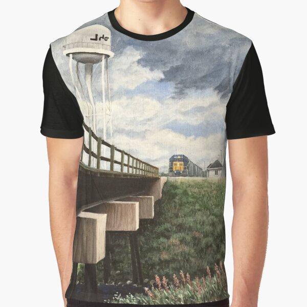 Moosonee Water Tower Graphic T-Shirt