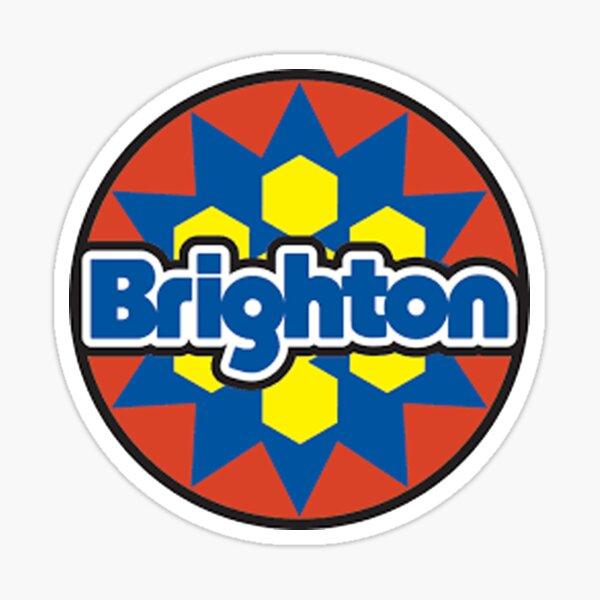 Brighton Ski Resort Fan T shirt Sticker