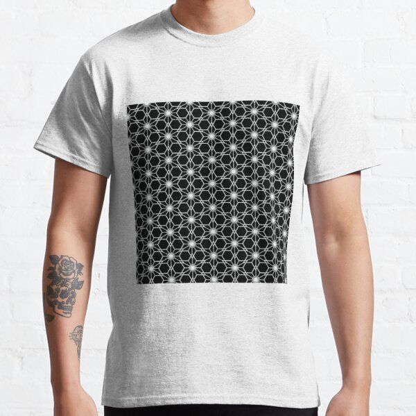 Japanese traditional pattern :: Sakurawari (Cherry blossom cut) Classic T-Shirt