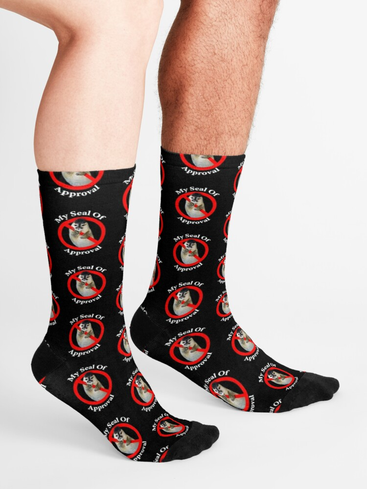 Alternate view of Seal of Approval - Love Socks
