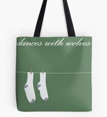 Dances with wolves Tote Bag