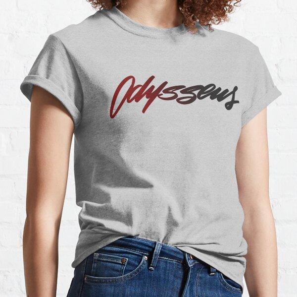 Logo en lettres à la main d'Ulysse T-shirt classique
