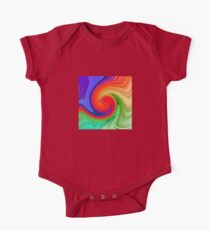 Raspberry Ripple Colourful Background Pattern Kids Clothes