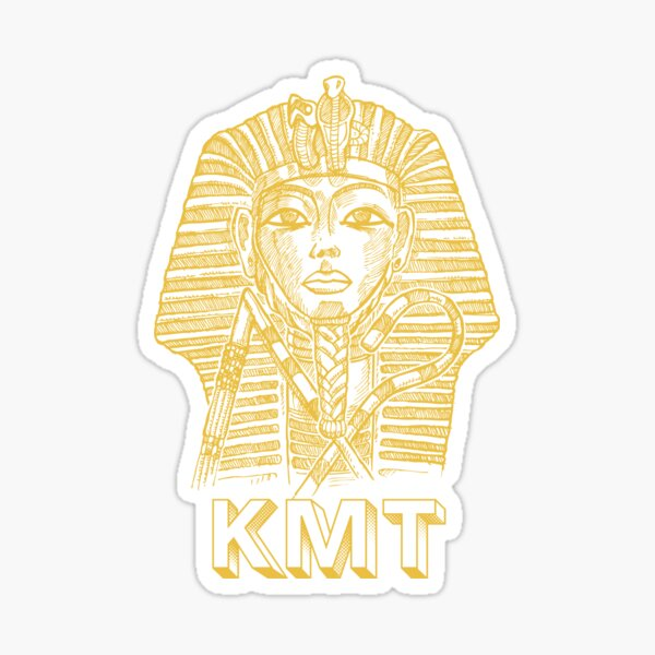 Pharaohs of Kemet - Gold Sticker
