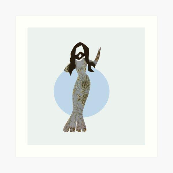 conchita mermaid Art Print