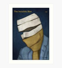 H. G. Wells - The Invisible Man Art Print