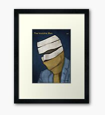 H. G. Wells - The Invisible Man Framed Print