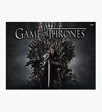 Game of Throne Photographic Print