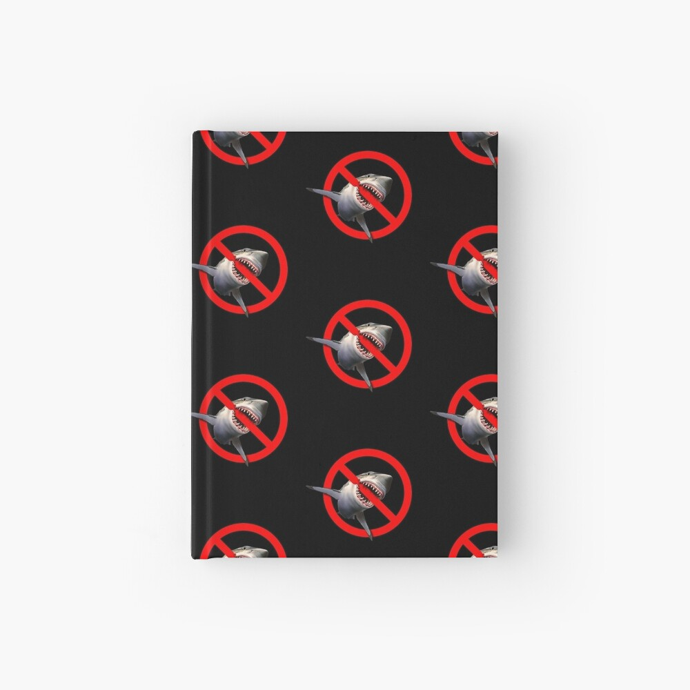 Shark Bite - Freedom from saying NO Hardcover Journal