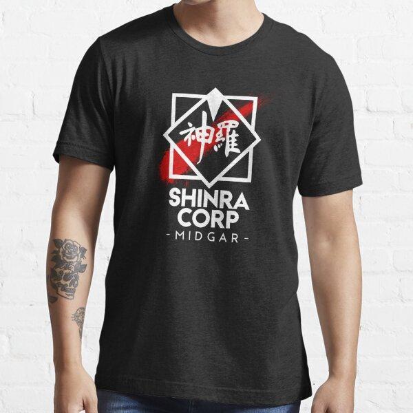 Shinra Corp - Midgar Essential T-Shirt
