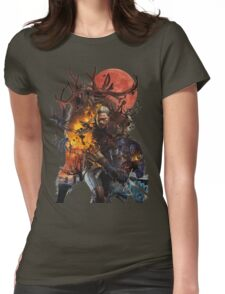 The Witcher 3 Womens Fitted T-Shirt