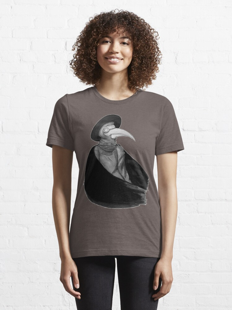 Alternate view of Plague Doctor Essential T-Shirt