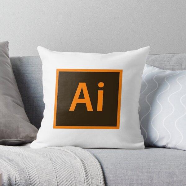 Adobe Illustrator Throw Pillow
