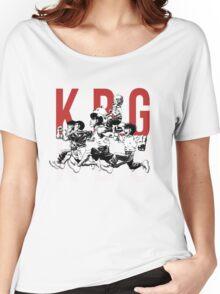 K.B.G Team - Hajime No Ippo Women's Relaxed Fit T-Shirt