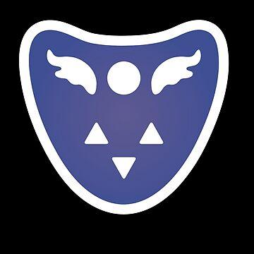 Undertale Delta Rune Toriel's symbole by ZARIAA