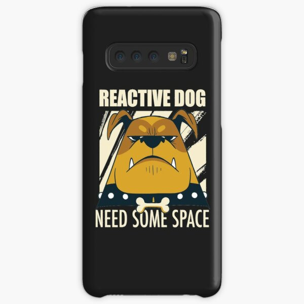 Reactive dog warning | Need some space | Dog training | Desensitization | Counter conditioning Samsung Galaxy Snap Case