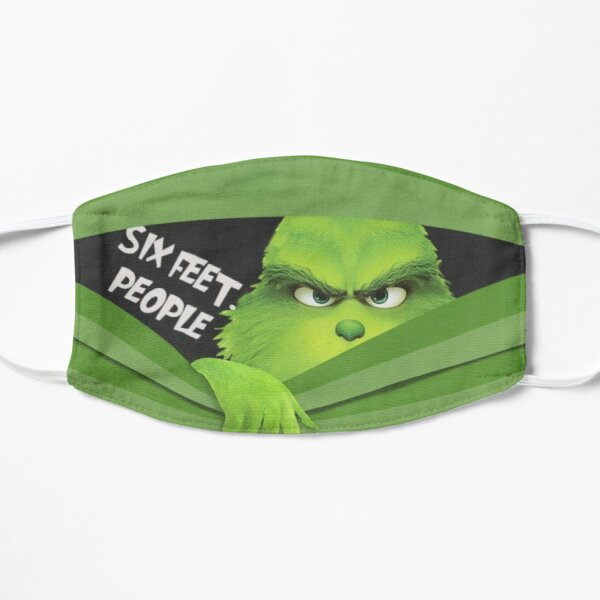 Social Distance Grinch Facemask Mask