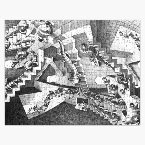 HOUSE OF STAIRS (M. C. ESCHER, 1951) Jigsaw Puzzle