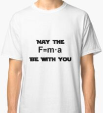 Star Wars Physics Force  Classic T-Shirt