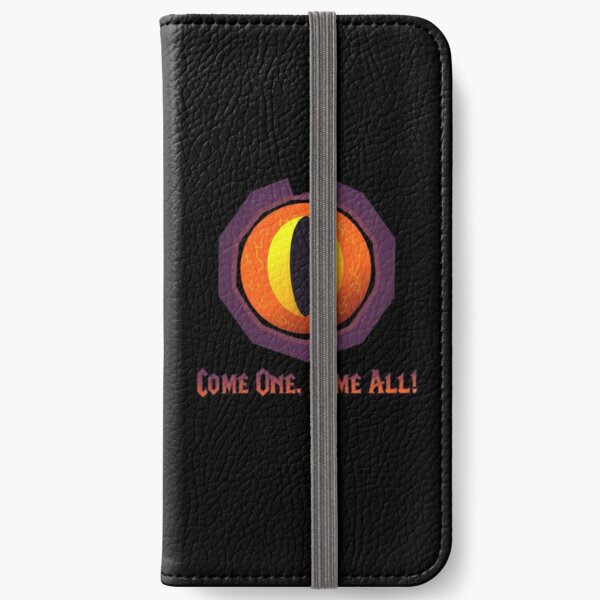 Hearthstone Darkmoon Faire Eye (Come one, come all) iPhone Wallet