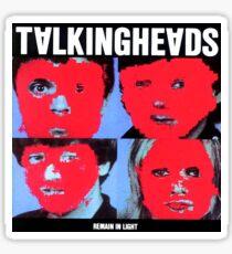 Talking Heads Album Art Sticker