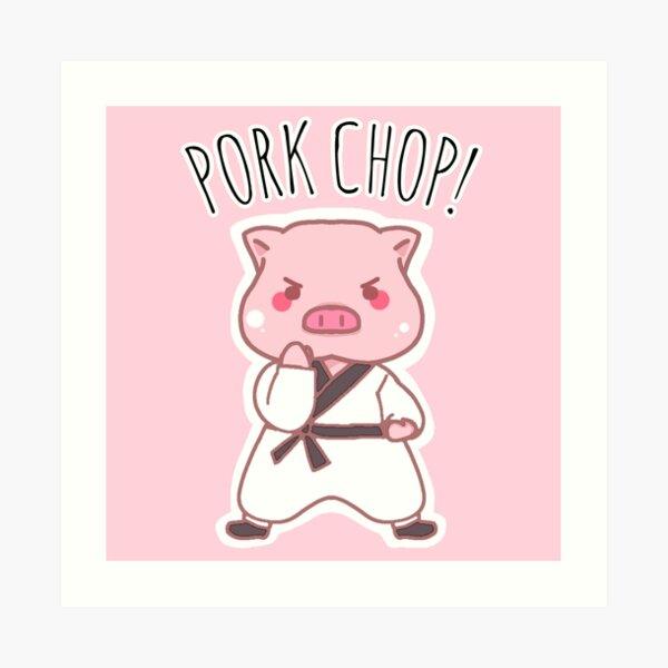 the perfect gift! HIGH QUALITY A2 Art Print Piggy Puns