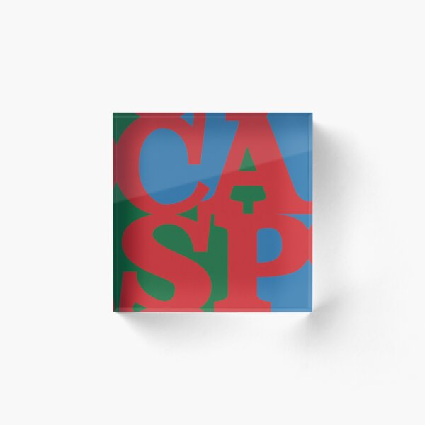 LOVE-CASP Country Arts Support Scheme Acrylic Block