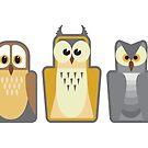 Owl Lineup by DerGrafiker