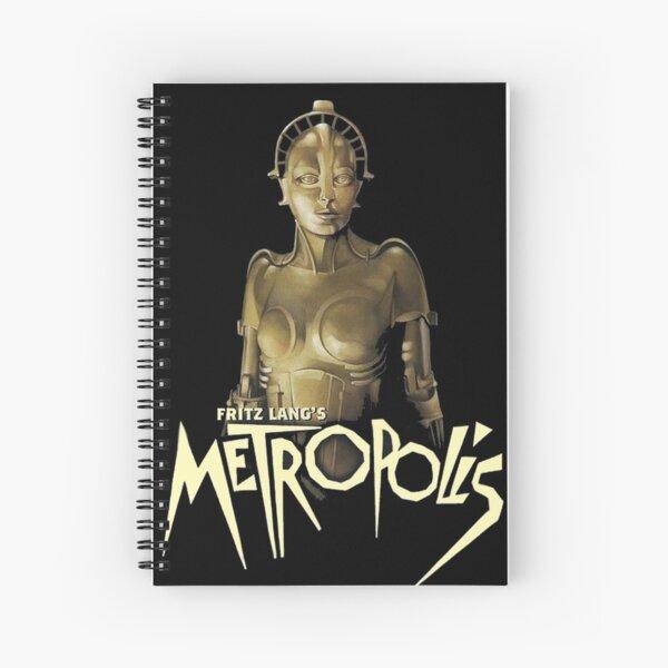 Metropolis (1927 Classic Movie) Spiral Notebook