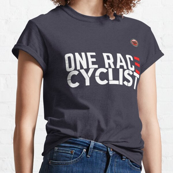 cyclostock - ONE RACE CYCLIST (white) Classic T-Shirt
