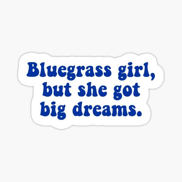 Bluegrass Girl Sticker